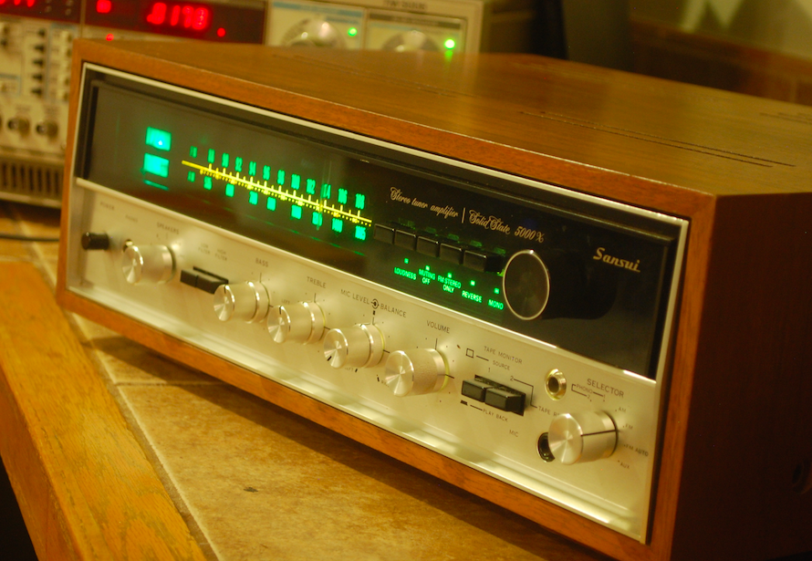 Vintage Hi-Fi Audio Restorations: K. McGonigle Sansui 5000X on