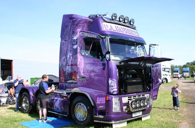 modifikasi mobil truk volvo terbaru