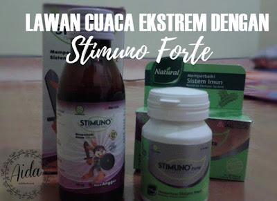 Lawan Cuaca Esktrem dengan Stimuno Forte