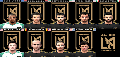 PES 6 Facepack LAFC 2018 by Tomi1889