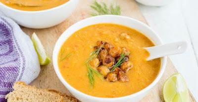 دوسات طريقة عمل وتحضر حساء الجزر بمذاق رشيق