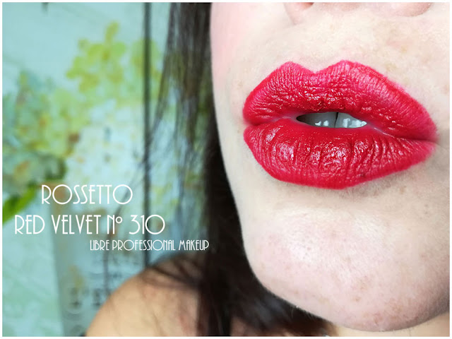 rossetto red velvet libre professional makeup lips