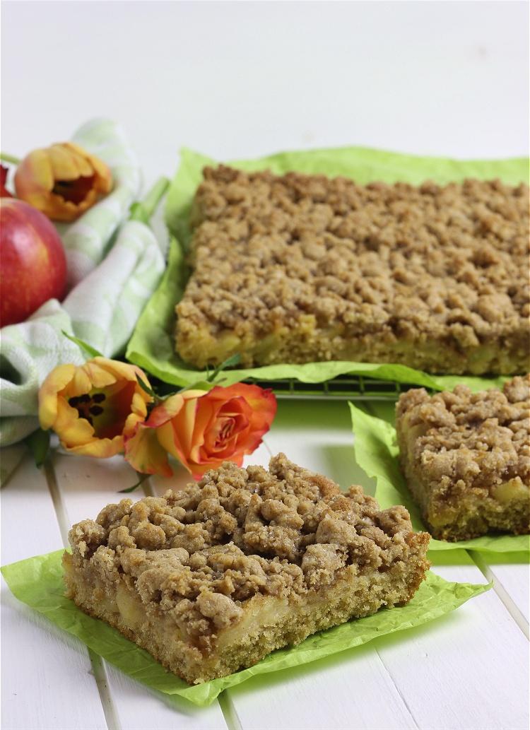 Apfel-Zimt-Streusel-Blechkuchen 2