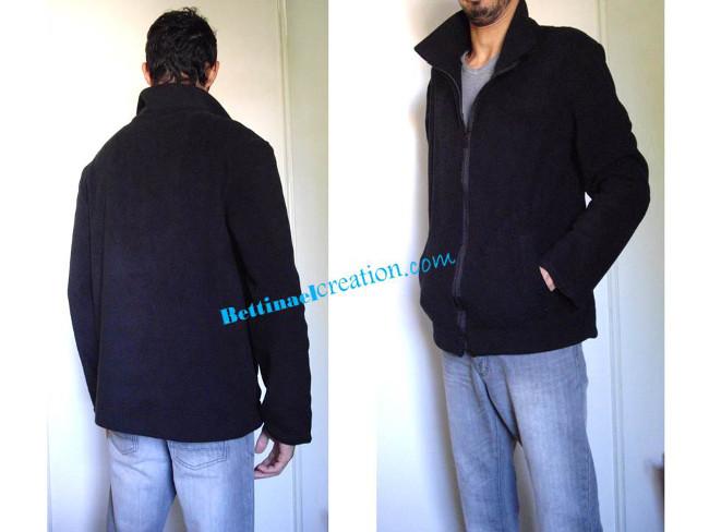 Patron Couture veste polaire pour homme Bettinael.Passion.Couture ... 4ab74920612