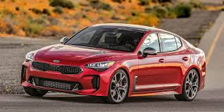 2018 Kia Stinger front red