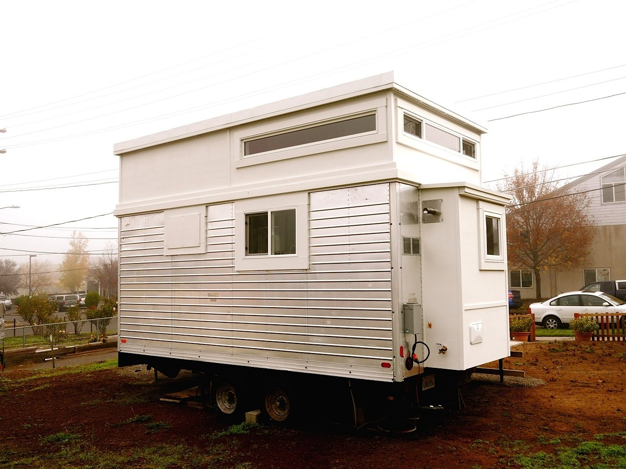 240 Sq Ft Tiny Cottage Remodel Before After: TINY HOUSE TOWN: Trailer Turned Tiny House (200 Sq Ft