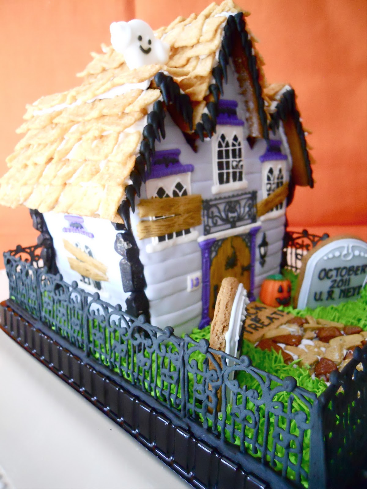 Oh Sugar Events Haunted Gingerbread House 2011