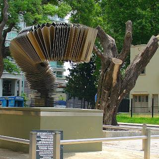Monumento ao Tango, em Puerto Madero