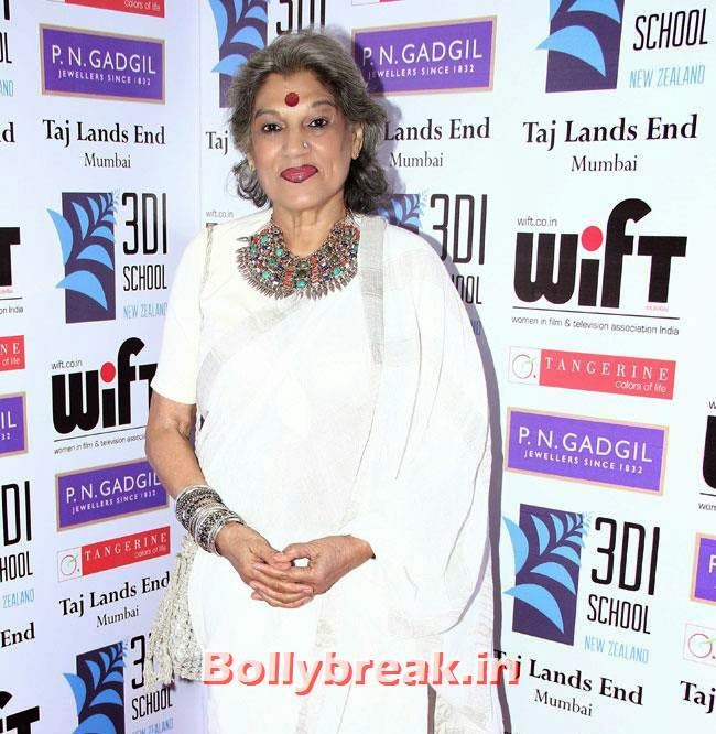 Dolly Thakur, Pallavi Sharda, Masumeh Makhija at WIFT National Women Achievers Awards 2014