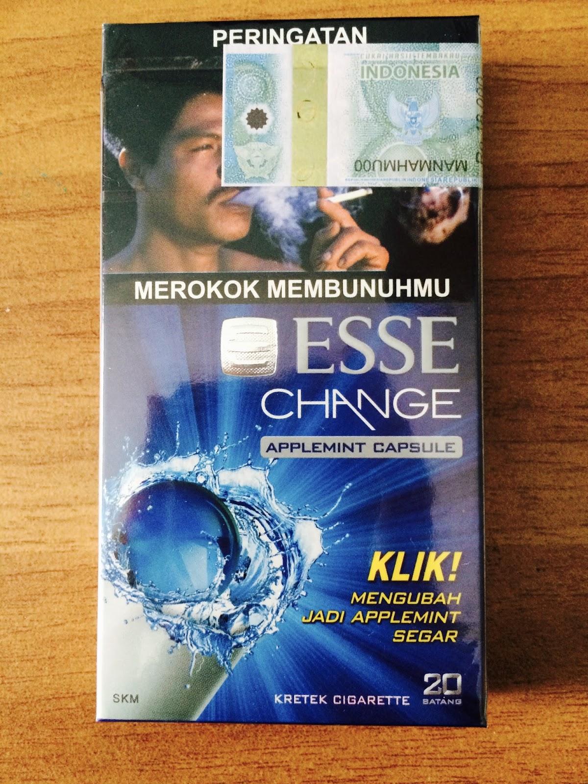 Esse Change Edisi 2016, Rokok Kretek Superslims Dengan