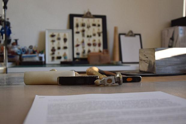 Laboratorio Beads and Tricks: i martelli