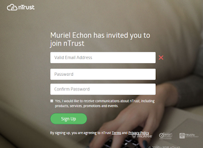 miely is online : Ntrust Sign Up