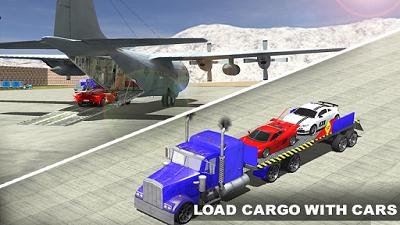 Airplane Pilot Car Transporter mod apk