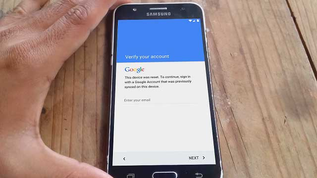 Eliminar cuenta Google Samsung Galaxy J1, J2, J3, J5 y J7