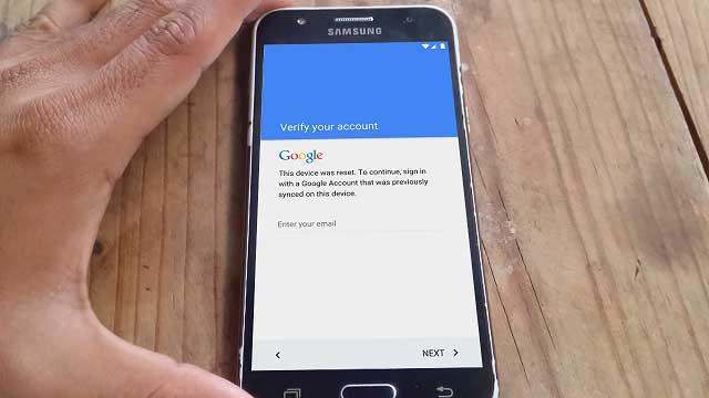 Quitar cuenta Google Samsung Galaxy J1, J2, J3, J5 y J7