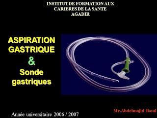 Aspiration Gastrique ET Sonde Gastriques .pdf