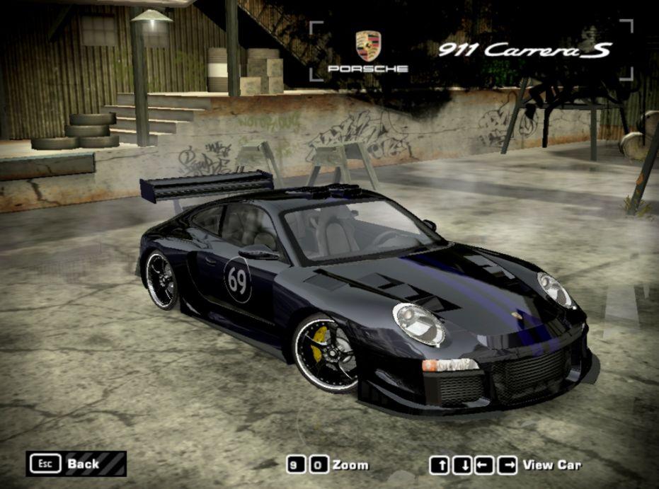 Porsche 911 Carrera S Nfs Most Wanted | Wallpapers Insert