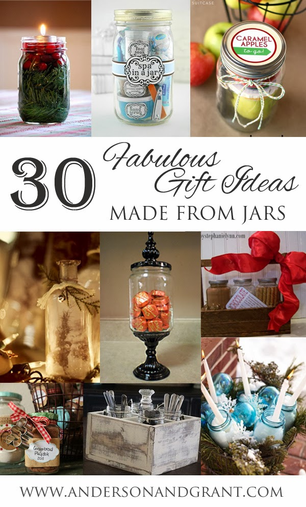 using jars to create fabulous christmas gifts anderson grant