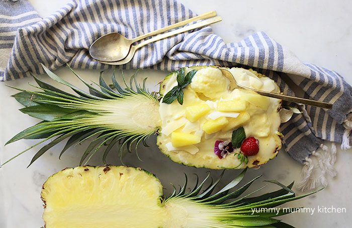 Pineapple Vegan Ice Cream