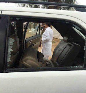 attack-on-rahul-bjp-leader-arrested-congress-ends-dharana