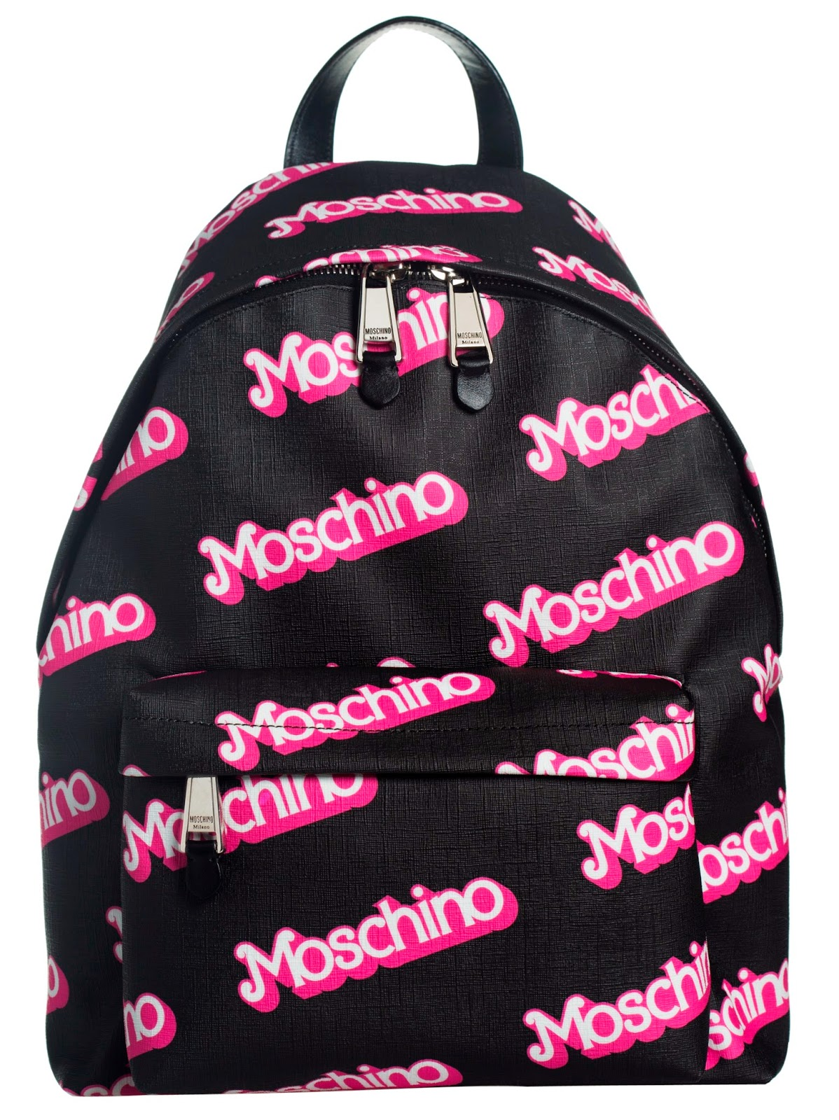 Moschino Pink Inspired Backpacks