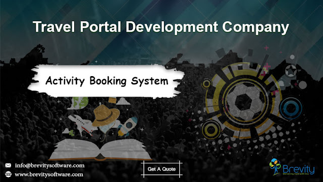 Activity Booking Software - Travel Portal Development Company