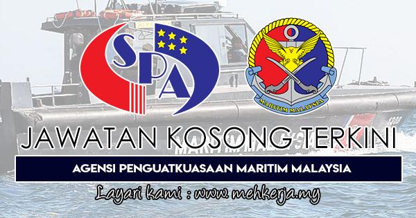 Jawatan Kosong Terkini 2018 di Agensi Penguatkuasaan Maritim Malaysia