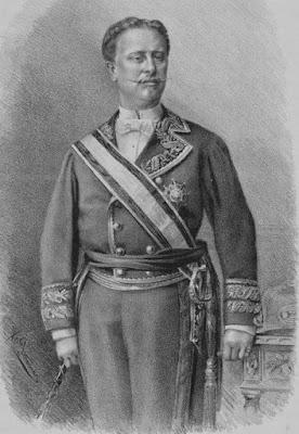 Dibujo de Antonio de Acuña Solís publicado en 1882