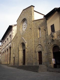 The Duomo in Sansepolcro