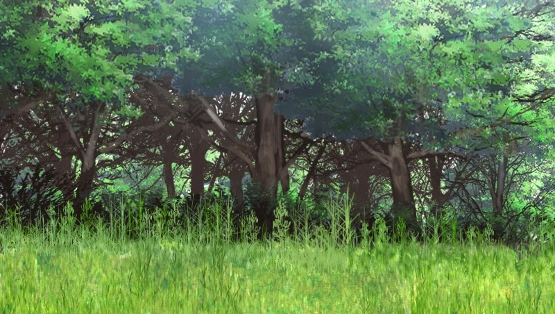 Forest Anime Background