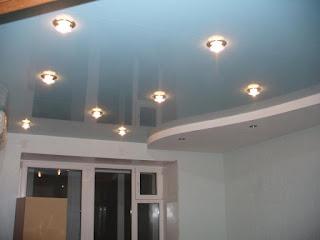Матовые и глянцевые натяжные потолки в Гулькевичи фото