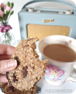 easy vegan oat cookies