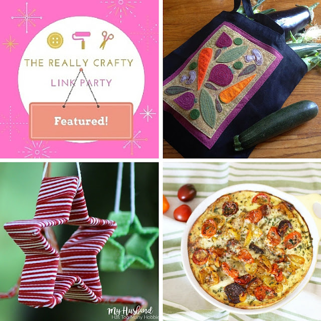 The Really Crafty Link Party #27 featured posts!