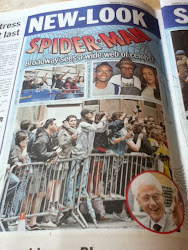 SPIDERMAN Back on BROADWAY