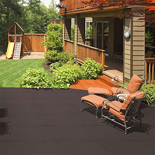 Greatmats rubber pool deck tiles interlocking Sterling athletic tiles