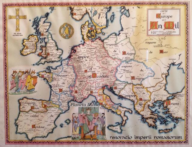Mapa siglo X