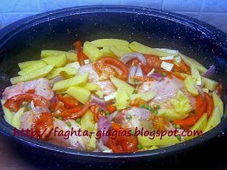 Κοτόπουλο με λαχανικά στη γάστρα - από «Τα φαγητά της γιαγιάς»