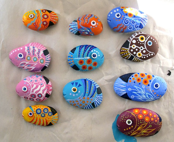 Stone Art Painting Inspiration Acrylics