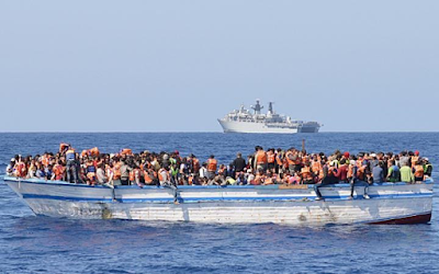 Over 700 EU-bound migrants, including 40 children feared drowned in the Mediterranean in three days