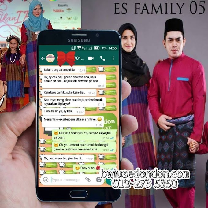 Testimoni Eid Sensation Family (ES05)