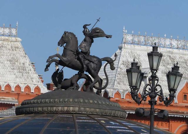 World Clock Fountain - Moscovo