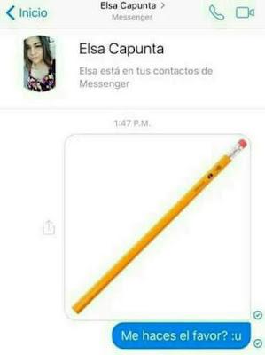 Elsa Capunta, el sacapuntas