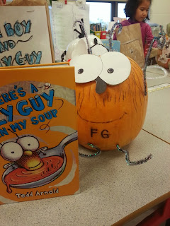 Pumpkin Book Reports- Fly Guy