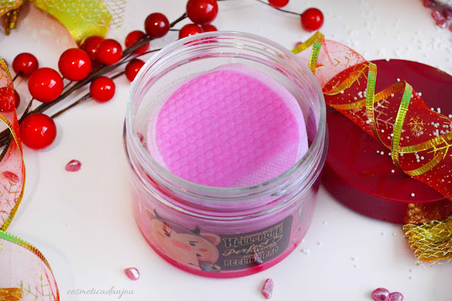 Elizavecca Milky Piggy Hell-Pore Perfect Wine Sparkling Peeling Pad Review