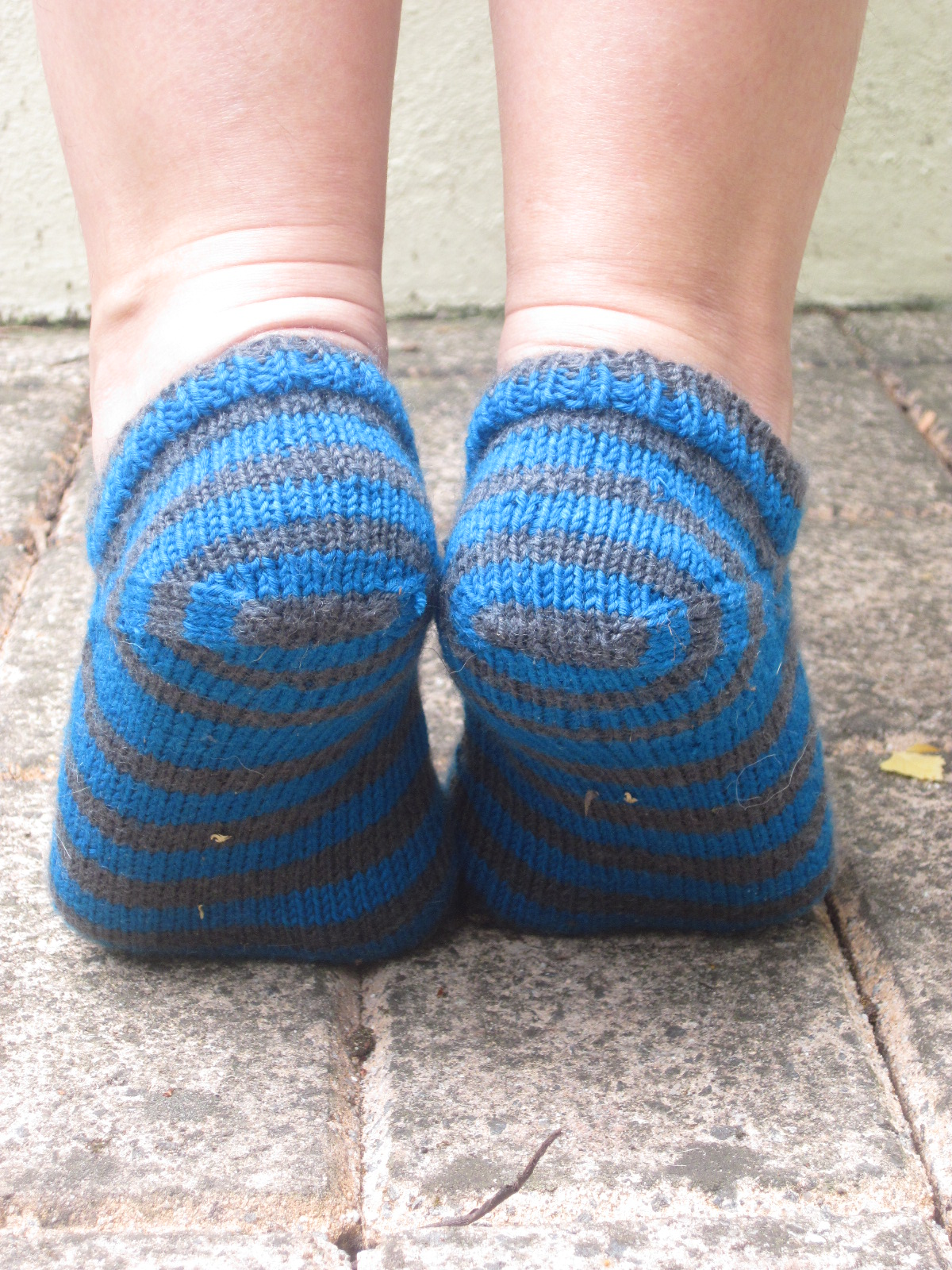 Best Way Join Yarn Knitting What I Made By Sharon The Sneaker Liner Project Perfect