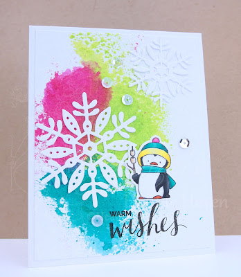 Heather's Hobbie Haven - Toasty Greetings Card