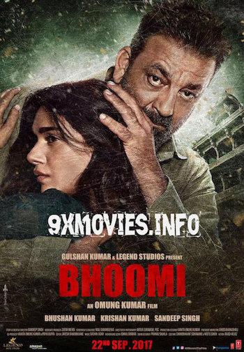 Bhoomi 2017 Hindi 480p DVDRip 350mb