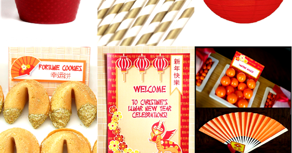 Chinese new year party ideas printables party ideas - Chinese new year party ideas ...
