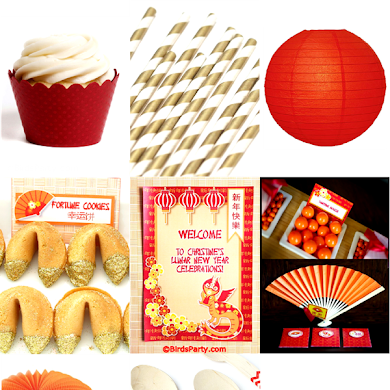 Chinese New Year Party Ideas & Printables