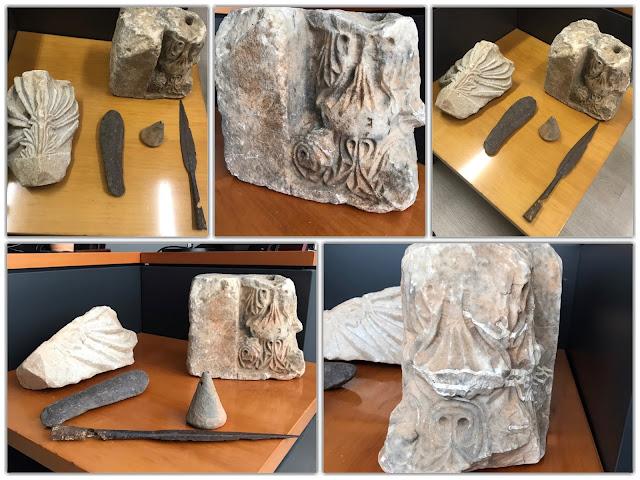 ΓΙΑΝΝΕΝΑ:Εντοπίστηκε σε αγροτική περιοχή στην Περίβλεπτο , ταξιδιωτικός σάκος με αντικείμενα αρχαιολογικής αξίας